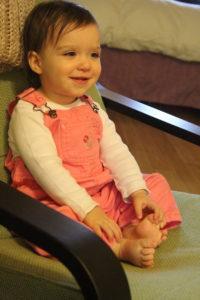 Big girl in the big chair :)